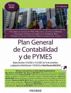 Plan General de Contabilidad edición 2020