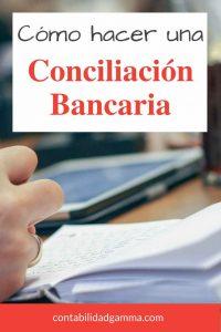 Cómo hacer una conciliación bancaria